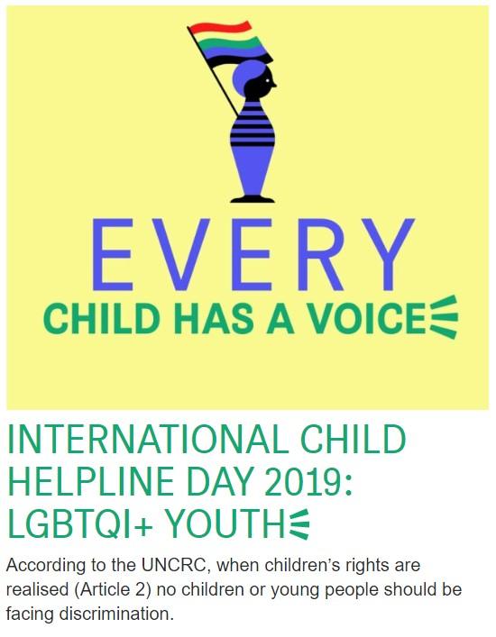 Ден на 116 111 - International Child Helpline - 2019