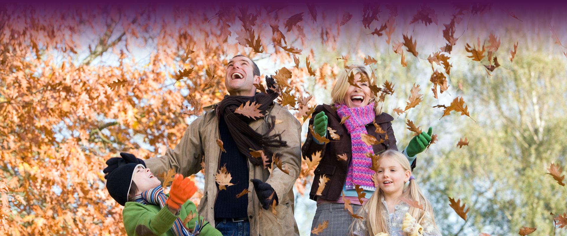 """""""Поход за семейството"""" - Семейство през есента"""